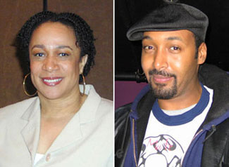 S. Epatha Merkerson, Jesse L. Martin(Photos &copy; Michael Portantiere)