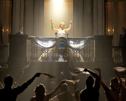 A scene from Evita