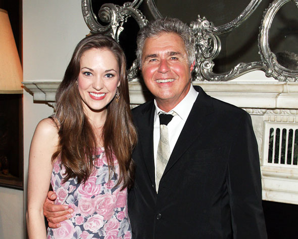 Laura Osnes and Steve Tyrell