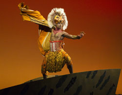 Dashaun Young in The Lion King