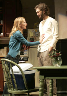 Amy Ryan and Ebon Moss-Bachrach in On the Mountain