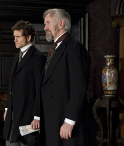 Hugh Dancy and Jonathan Pryce in Hysteria (© Sony Picture Classics)