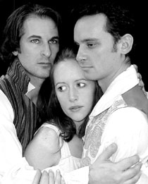 Marc Geller, Abby Royle, and Brad Malowin The Frankenstein Summer