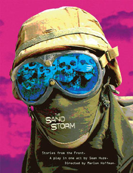 Poster art for The Sand Storm: Stories From the Front