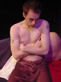 Robb Spath in Angels in America:Millennium Approaches(Photo © Greg DeCandia)