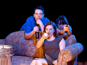 Steve Rosen, Kimberly Gilbert, and Jenna Sokolwski