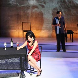 A scene from Solitude