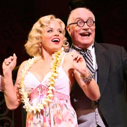 Megan Hilty and Simon Jones