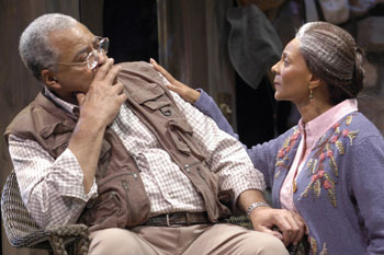 James Earl Jones and Leslie Uggams in On Golden Pond(Photo © Scott Suchman)