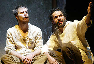 Sam Rockwell and John Ortizin The Last Days of Judas Iscariot