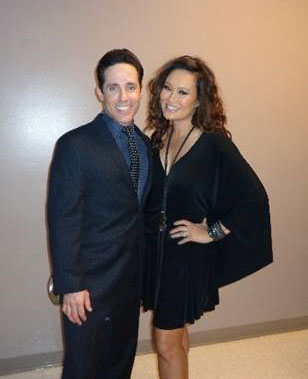 Jersey Boys cast member Jeff Leibow and Tia Carrere