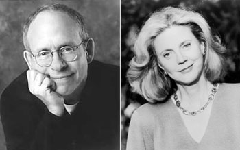 Bob Balaban and Blythe Danner