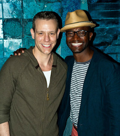Adam Pascal and Taye Diggs