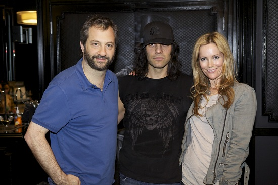 Judd Apatow, Criss Angel, Leslie Mann