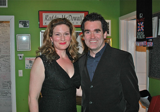 Ana Gasteyer and Brian d'Arcy James