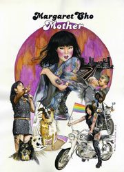 Poster art for Margaret Cho's Mother! tour