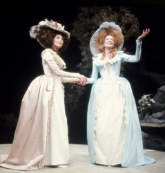 Domini Blythe and Maggie Smith