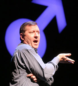 Steve Luker in The Penis Monologues: Men Speak