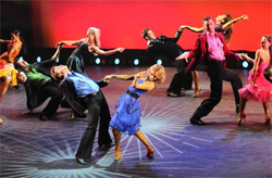 The cast of Ballroom with a Twist (courtesy of the company)