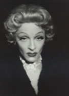 Beaman as Dietrich--believe it or not!