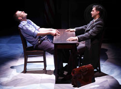 Chad Kimball and Guy Burnet