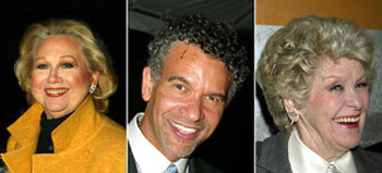 Barbara Cook, Brian Stokes Mitchell, and Elaine Stritch(Photos © Joseph Marzullo)