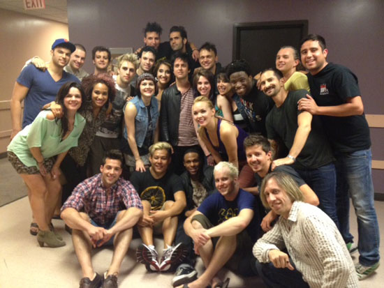Billie Joe Armstrong with the national tour company of American Idiot