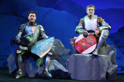 Josh Hamilton and Tate Donovan
