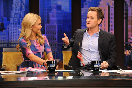 Kelly Ripa and Neil Patrick Harris