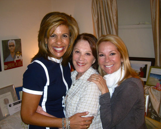 Hoda Kotb, Linda Lavin, and Kathie Lee Gifford