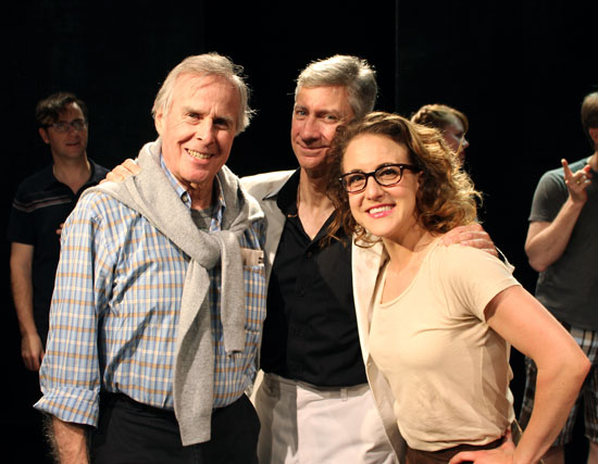 John Cunningham, David Garrison, and Jenn Harris