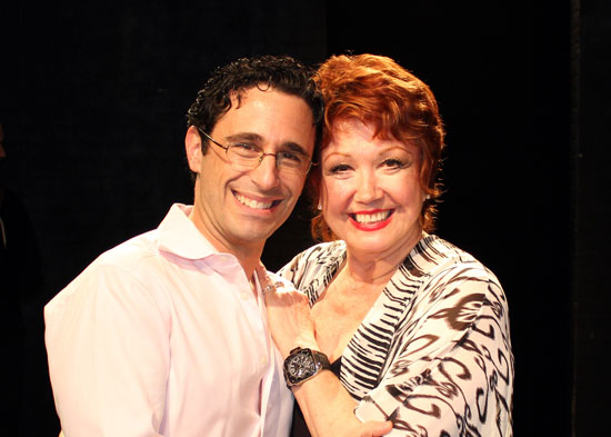 Christopher Gattelli and Donna McKechnie 