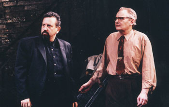 Jeff Still and John Judd in Orson's Shadow(Photo © Colin D. Young)