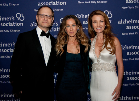 David Hyde Pierce, Sarah Jessica Parker, and Jane Seymour