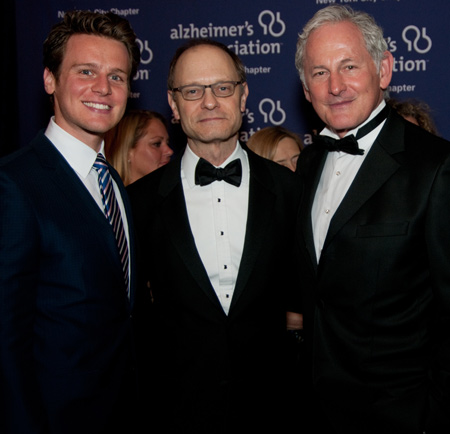 Jonathan Groff, David Hyde Pierce, and Victor Garber