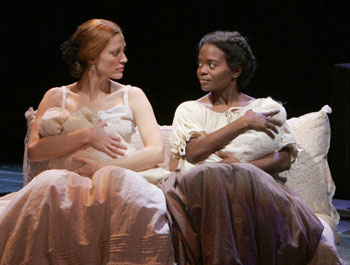 Rachel York and LaChanze in Dessa Rose(Photo © Joan Marcus)
