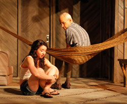 Sarah Steele and Željko Ivanek in Slowgirl