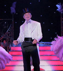 George Hamilton as Georges in national tour of La Cage Aux Folles