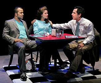 Jeffrey Wright, Amanda Peet, and Ben Stillerin This Is How It Goes(Photo © Michal Daniel)
