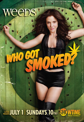 Artwork for the 8th season of Weeds