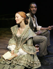 Rachel York and Norm Lewis inDessa Rose(Photo © Joan Marcus)