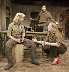 Angela Peirce, Thomas Matthew Kelley, and