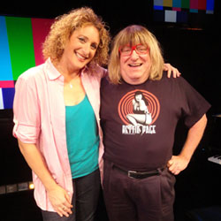 Judy Gold and Bruce Vilanch (Courtesy Bay Street Theatre)