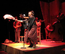 Johnnie Mae (center) and company