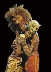 production photo from The Lion King