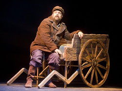 Brad Oscar in Fiddler on th