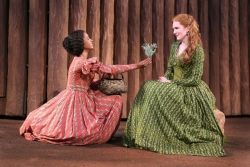 Renee Elise Goldsberry and Lily Rabe