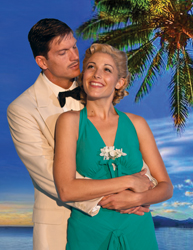 Branch Fields and Jennie Sophia in South Pacific (courtesy of the company)