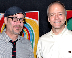 Terry Kinney and Douglas McGrath