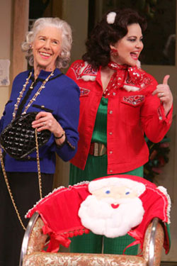 Frances Sternhagen and Delta Burkein Steel Magnolias(Photo © Joan Marcus)